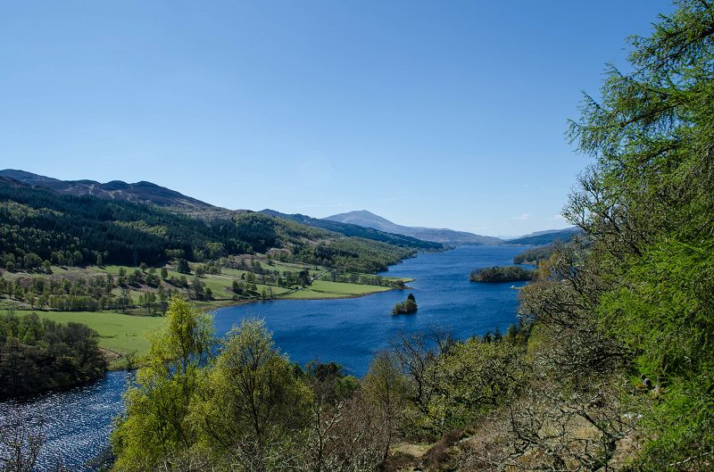 Queens View & Loch Tummel